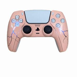 Dark PS5 Pro/Spider Lightning Baby Pink